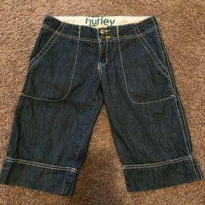 Hurley Bermuda Shorts size 3